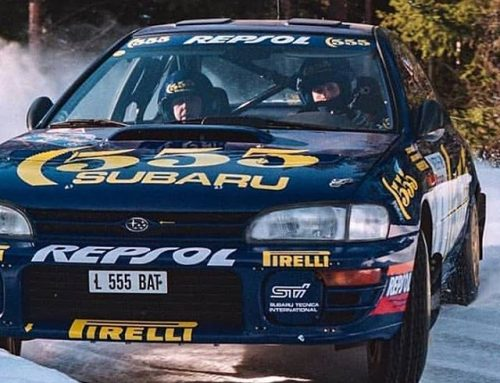 Colin McRae's World Rally Championship Winning Car