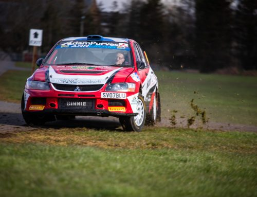 Scottish Rally Championship Leader to Star at DRIVE